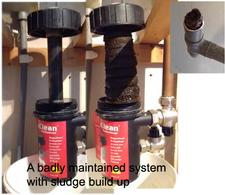 power flushing, radiator problems, heating problems, blocked radiator